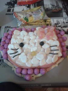 gateau bonbons hello kitty