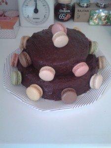 piece montee chocolat